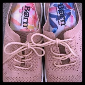 Brand new BORN sneakers. Beautiful pale pink!